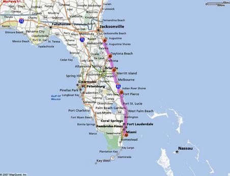 Day 5 - St Augustine FL to Miami Beach FL