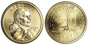 one dolar coin