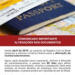 Atenção ao seu passaporte