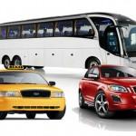 Vou de taxi, uber, shuttle ou alugo um carro?