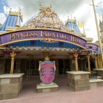 Nova princesa no Fairytale Hall do Magic Kingdom